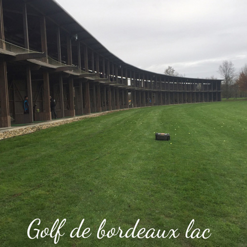 Réalisation Golf de Bordeaux Lac
